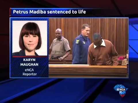 Serial killer Petrus Madiba sentenced to life