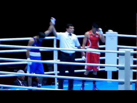 Satoshi Shimizu vs Magomed Abdulhamidov - Bantamweight Olympic Boxing 2012