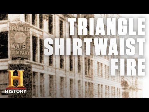 The Triangle Shirtwaist Factory Fire   History