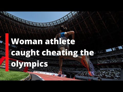 Madeline Caught cheating the olympics