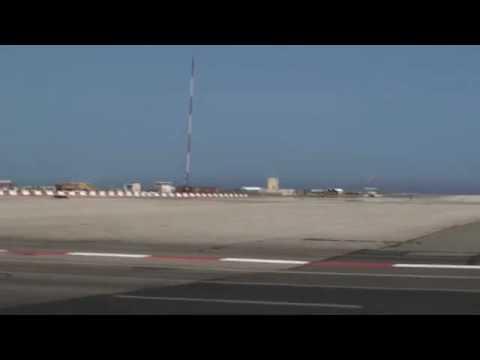 Crossing Gibraltar's Airport Runway