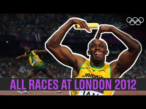 ALL of Usain Bolt's 🇯🇲individual races 🏃♂️at London 2012!