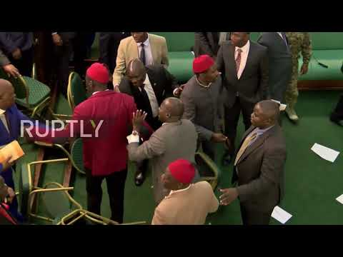 Uganda: Parliament descends into brawl as lawmakers debate presidential age limit change