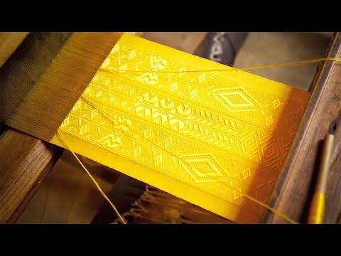 How was it made? Golden spider silk
