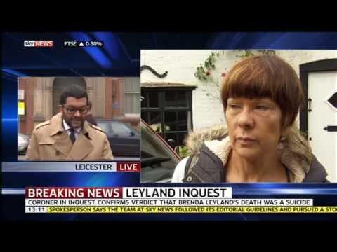 Brenda Leyland - Sky News (20th March 2015 @ 1pm)