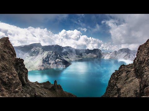 Aerial China: Heaven Lake in the Changbai Mountains| CCTV English