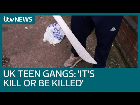 Machete-wielding teen on gang life: 'It's either kill or be killed' | ITV News