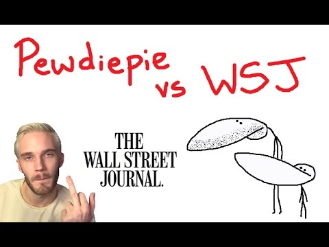Pewdiepie Vs WSJ - The Bigger Problem With The Media