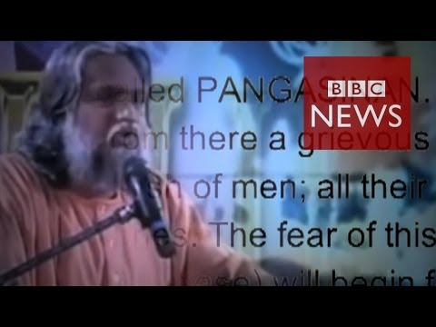 'Flesh-eating disease' prophecy causes panic in the Philippines #BBCtrending - BBC News
