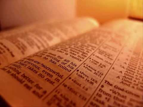 The Holy Bible - Proverbs Chapter 5 (KJV)