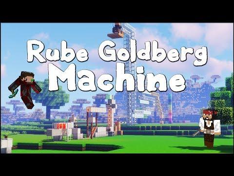 ▶️ Minecraft Rube Goldberg Machine