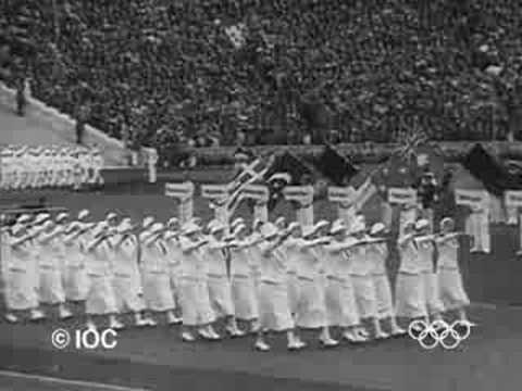 1936 Berlin Olympics Opening Ceremony