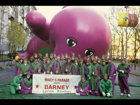 Macy's Parade Balloons: Barney The Dinosaur