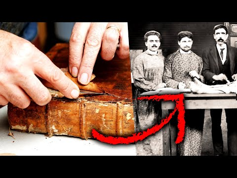 Hunting Down Books Made With Human Skin