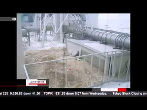 Tsunami Hitting Japans Fukushima Power Plants March 11, 2011