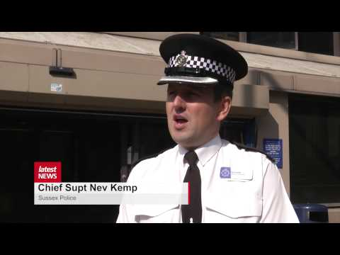 """Sussex Police praise """"hero"""" Brighton teen who collared man on run from officers"""