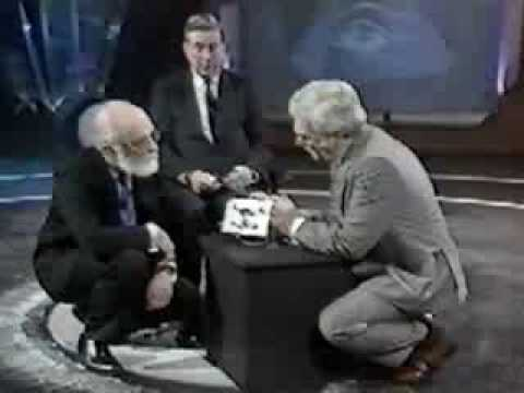 James Randi and Thought Transference
