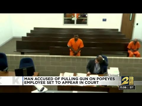Man charged after police say he pulled gun on Popeyes employee over sold out chicken sandwiches
