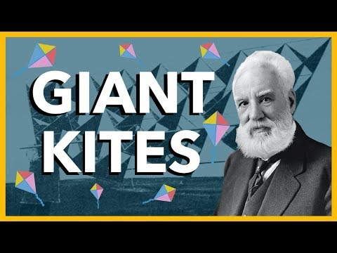 Alexander Graham Bell Thought the Future of Flight was Giant Kites