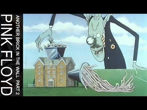Pink Floyd - Another Brick In The Wall, Part Two (Official Music Video)