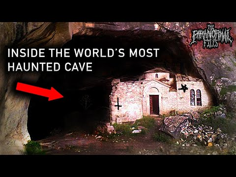 Inside The World's MOST HAUNTED Cave... At Night | THE PARANORMAL FILES