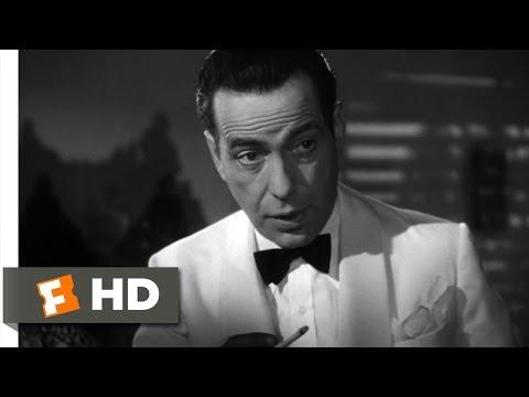 Casablanca (1/6) Movie CLIP - Secret Sentimentalist (1942) HD