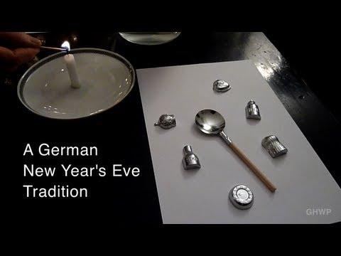 German NYE Tradition: Bleigiessen (Fortune Telling) - In A Berlin Minute (Week 139) [HD]