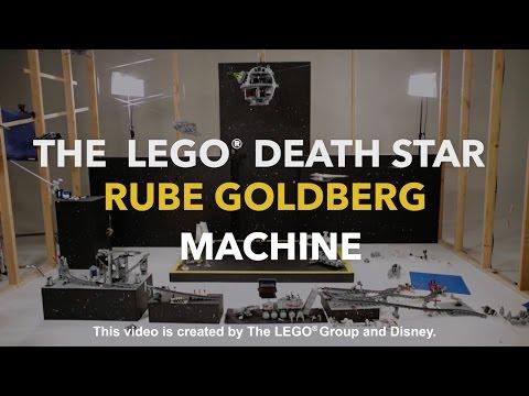 LEGO® Death Star Rube Goldberg Machine   Disney