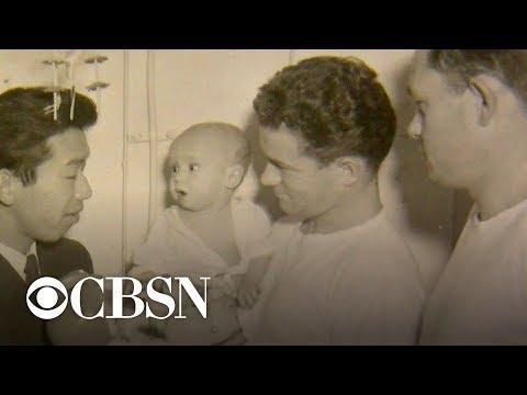Navy medic reunites with baby saved during Korean War