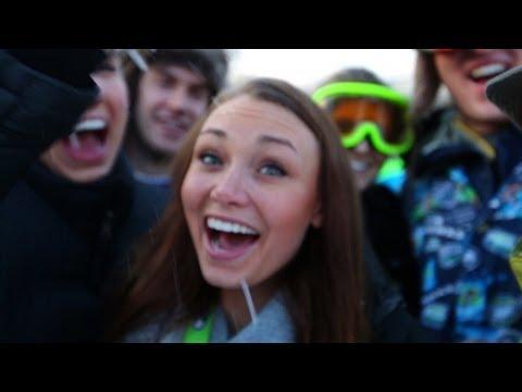 World's Largest Snowball Fight - Contour Cameras - Snow Day | DEVINSUPERTRAMP