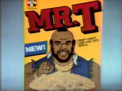 Mr. T Cereal commercial 1984