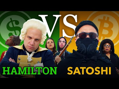 Bitcoin Rap Battle Debate: Hamilton vs. Satoshi (BITCOIN GIVEAWAY) [feat. EpicLloyd, TimDeLaGhetto]