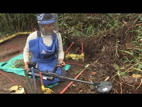 The challenge of clearing Colombia of landmines