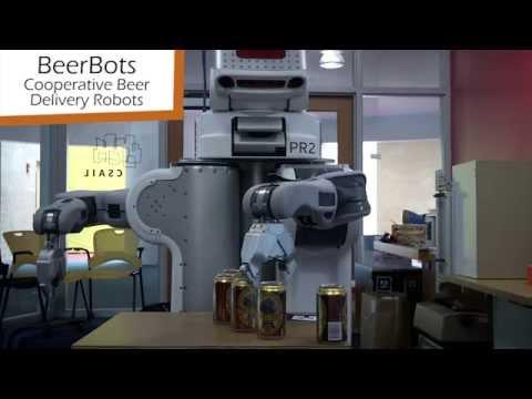 Beerbots: Cooperative Beer Delivery Robots