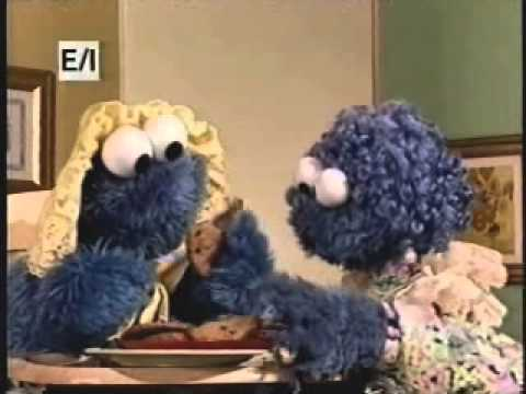 """Sesame Street - """"The First Time Me Eat Cookie"""""""