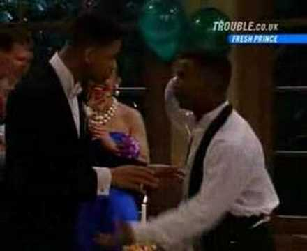 Carlton dances on speed at the prom