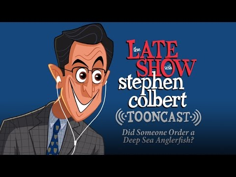 The Late Show Tooncast: Did Someone Order A Deep Sea Anglerfish?
