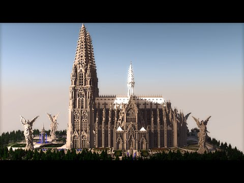 Cologne Cathedral in Minecraft