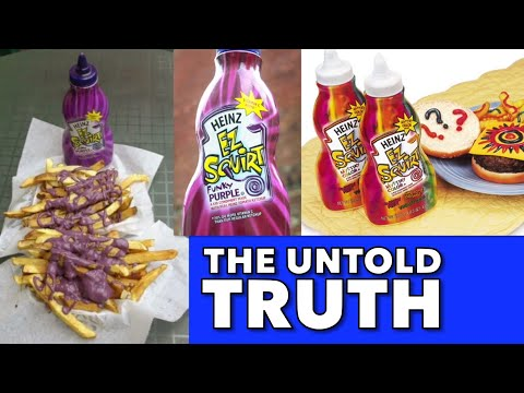 The Untold Truth of Heinz EZ Squirt Ketchup - #FoodieFlashback #FoodHistory