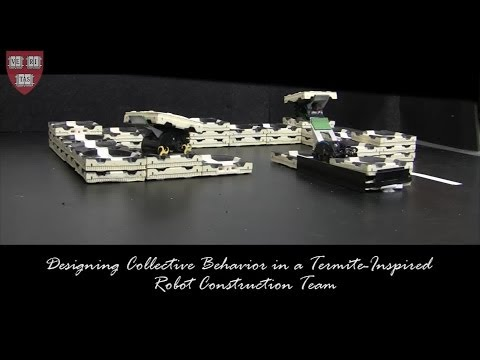 Designing Collective Behavior in a Termite-Inspired Robotic Construction Team
