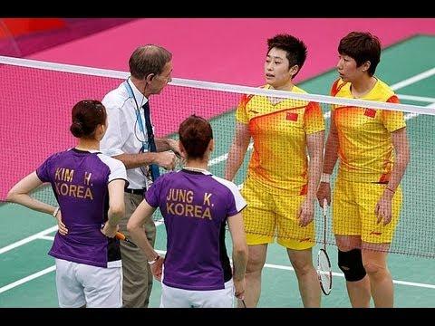 Olympic Badminton Scandal