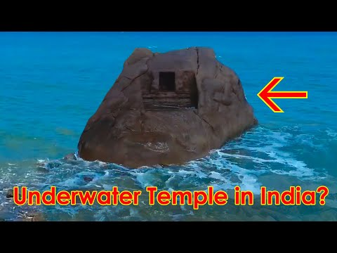 UNDERWATER Temples Found in Mahabalipuram?? The Seven pagodas of India