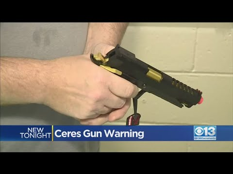 Ceres Police Warn About Dangers Of Pellet Guns