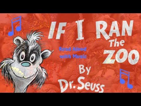 If I Ran the Zoo Dr. Seuss Read Aloud with Music | Zoo Tycoon 2 Theme