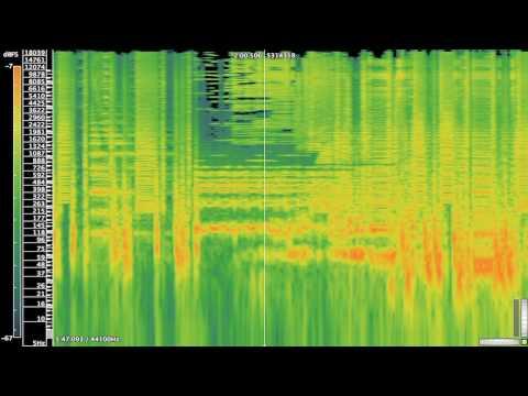 [Equation] - Aphex Twin Spectrogram