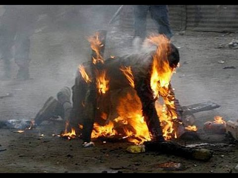 Journalist Burnt Alive; UP Minister & Cops Charged