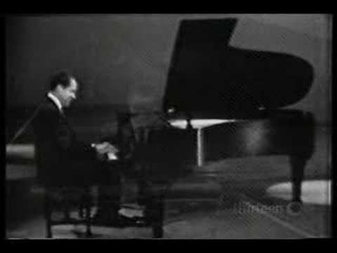 Richard Nixon plays his Piano Concerto #1