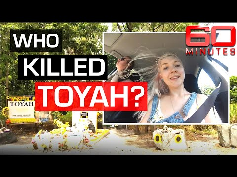 Murder in paradise: global hunt for answers in killing of Toyah Cordingley | 60 Minutes Australia