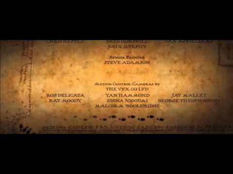 Weird footprints in the credits of Harry Potter and the Prisoner of Azkaban