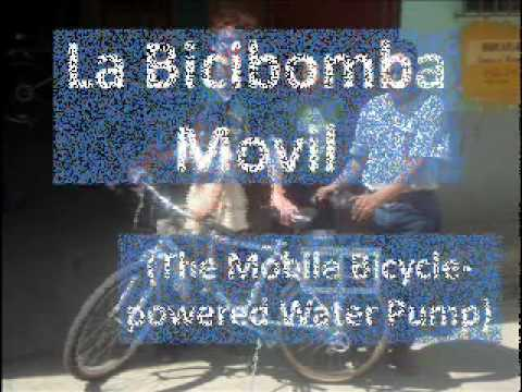 Maya Pedal's Mobile Bicycle Powered Water Pump - La Bicibomba Movil
